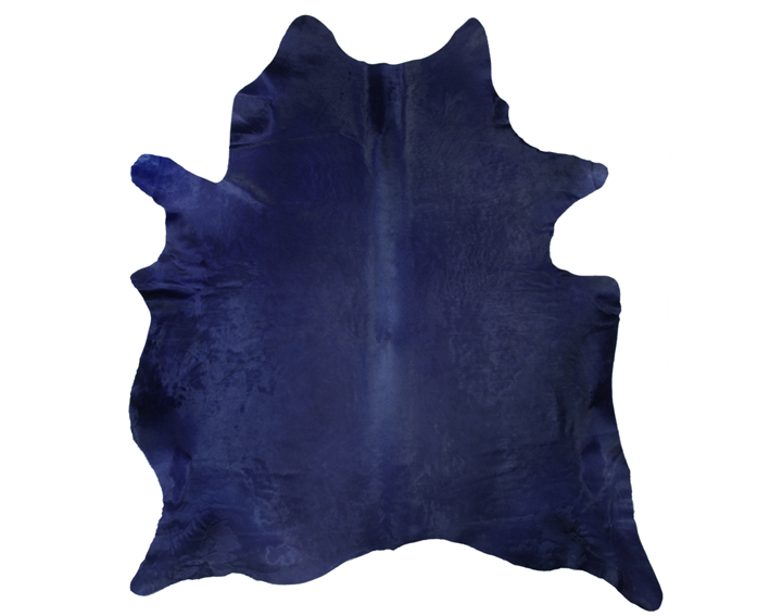 navy cow hide