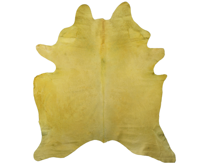 yellow cow hide